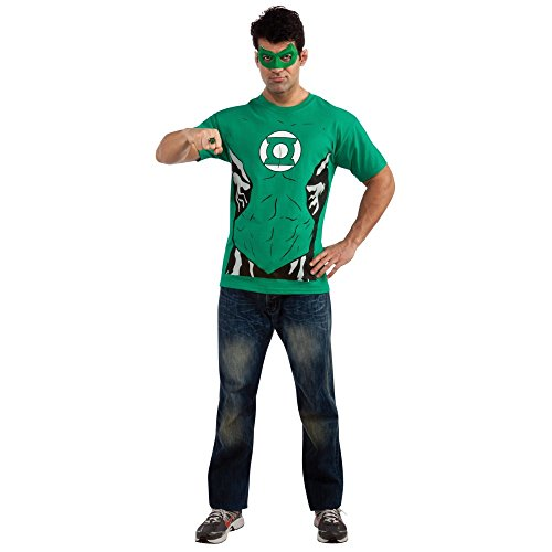 Green Lantern T-Shirt Costume Kit-Mens XL - Green Lantern Costumes Kit