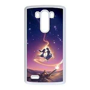 LG G3 Cell Phone Case White Aladdin 007 Delicate gift JIS_362542