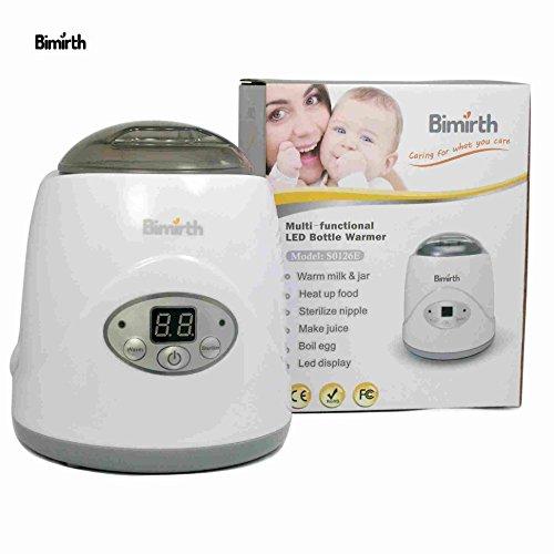 Bimirth Safe BPA-Free Constant Heating Multifunctional Practical Milk Heater Portable Baby Bottle Warmer, Juicer, Egg Cooker