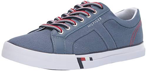 Tommy Hilfiger Men's Rue Sneaker, Light Blue, 11.5 M US