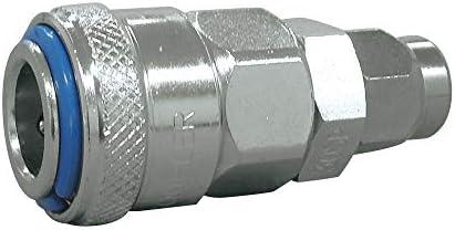 フローバル プロスタイルツール クイックカップリング ワンタッチ式 ナット型ソケット 30SPA 適用ホース 6.5x10