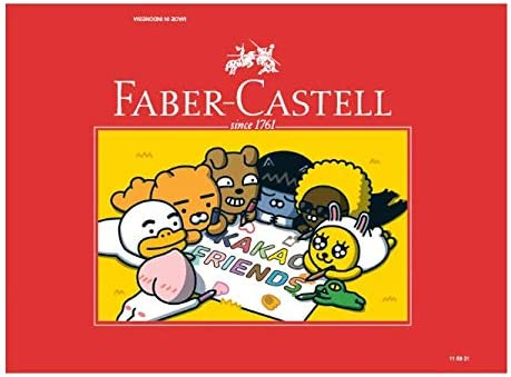 Faber-Castell Watercolor Pencils 36 Colors Kakao Friends Limited Edition