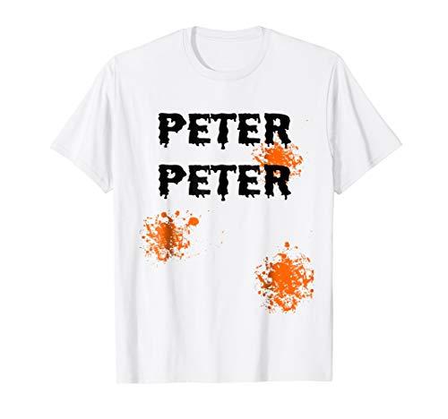 Mens Peter Peter Pumpkin Eater Halloween Couples Costume T-shirt