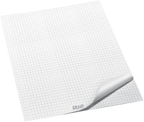 Ursus 036441 Flipchartblock, kariert, 68 x 99 cm, 80 g/qm, 20 Blatt