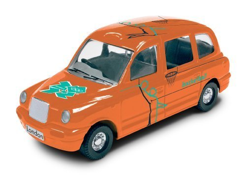 fan products of Corgi TY66137 London 2012 Destination London 2012 Taxi #35 Basketball 2012 Collectable Series Die Cast Vehicle by Hornby Hobbies Ltd