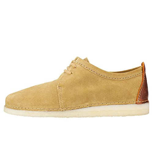26131149 Shoes Stringate Ashton Originals Uomo 9 Suede Oak Clarks qpXwASax