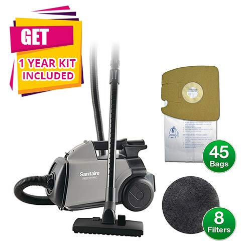 Sanitaire by Electrolux S3686E Mighty Mite Canister Vacuum Cleaner (Vacuum Cleaner w/KIT)