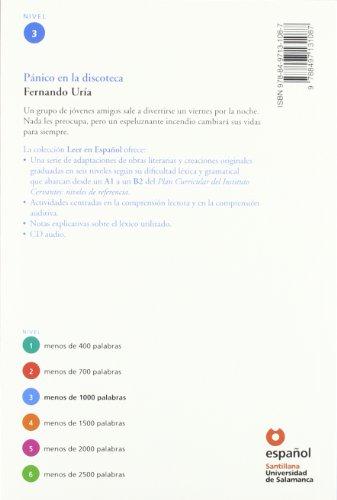 Pánico en la discoteca/ Panic at the Disco (Leer En Español, Level 3) (Spanish Edition)