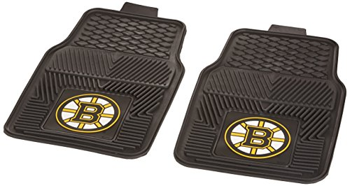 FANMATS NHL Boston Bruins Vinyl Heavy Duty Car Mat