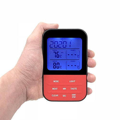 Wireless Meat Thermometer, Unop Wireless Remote Accessories