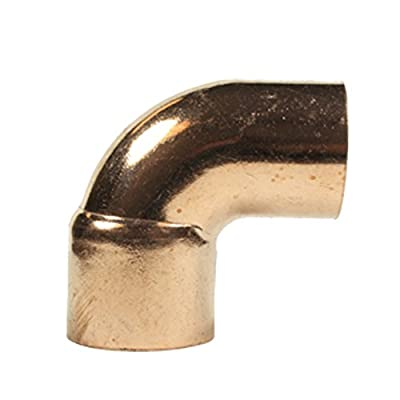 Libra Supply 90-Degree Street Elbow FTG x C, Copper Pressure Pipe Fitting Plumbing Supply