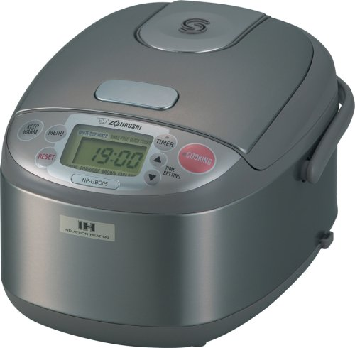 Cooker/Warmer with Induction Heating System in Stainless Bro
