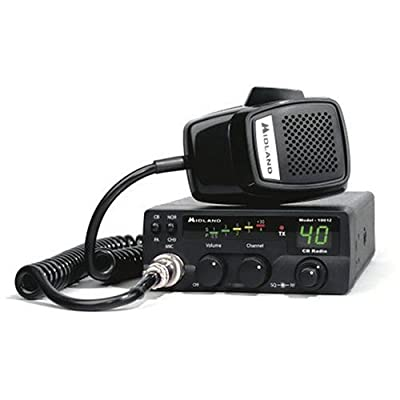Midland 1001Z 40-Channel CB Radio: Home Audio & Theater