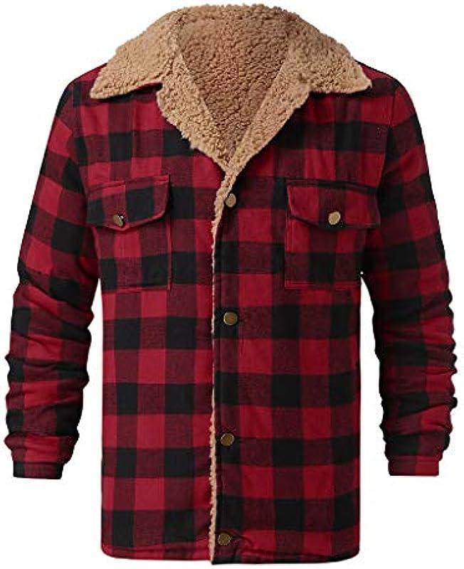 URSING męska kurtka zimowa z kapturem Fuzzy: Odzież