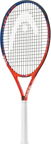 HEAD Radical 26 Junior Tennis Racquet, 4″ Strung Orange