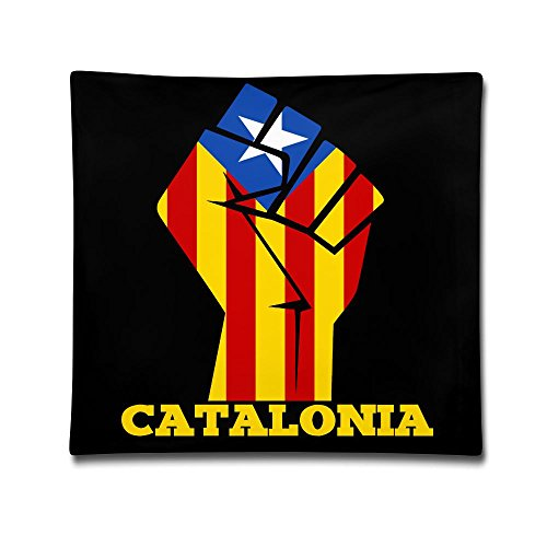 Catalonia Flag Independence Referendum Decorative Pillowcases Novelty Pillows(Two Side)