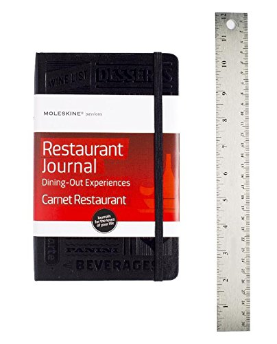 Moleskine Passion Journal - Restaurant, Large, Hard Cover (5 x 8.25): Dining Out - Restaurant Journal