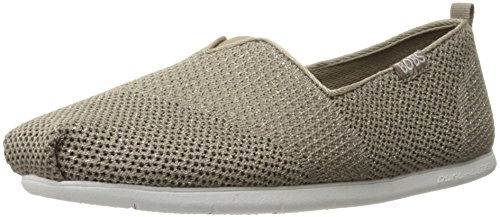 from Lite Taupe Skechers Women's BOBS Sparkle Flat Plush IwxBq5Zq