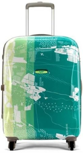 1f62bca26e38 Skybags Escape Polycarbonate 57 cms Green Hard Sided Carry-On ...