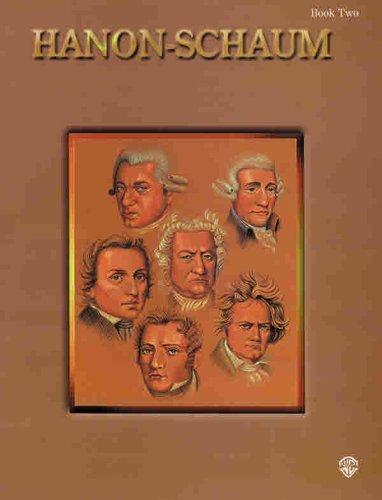 Hanon-Schaum, Bk 2 (Schaum Master Composer Series) - Bk Master