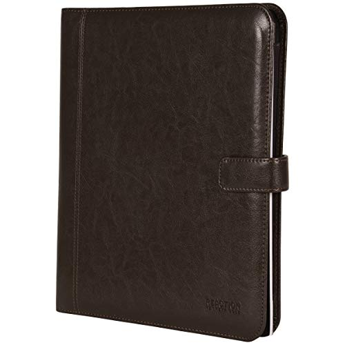 Kenneth Cole Reaction Faux Leather Standard Bifold Writing Pad with Business Organizer, Brown by Kenneth Cole REACTION (Image #6)