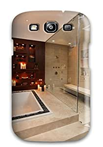 David Nuwayhid Galaxy S3 Hybrid Tpu Case Cover Silicon Bumper Contemporary Glass Enclosed Shower And Bathtub With Loose Rock Border