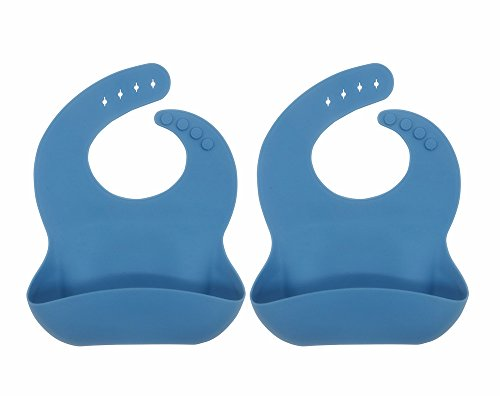 Silicone Bib Baby Feeding Waterproof Double