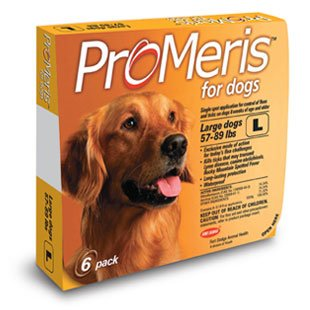 ProMeris for Large Dogs 55 – 88 Pounds 6 Doses USA Version / EPA Registered, My Pet Supplies