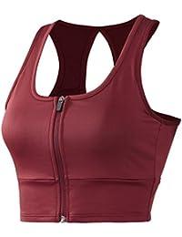 Women Racerback Sports Bras - Medium Impact Workout Gym Activewear Bra (S-3X, Plus Sizes)