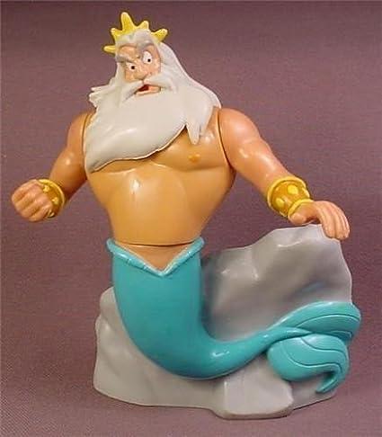 Amazon.com: Disney La Sirenita King Triton Padre de Ariel ...