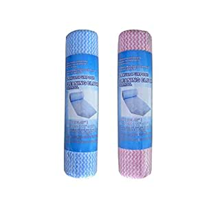 bulk buys - Reusable cleaning cloth roll ( Case of 8 )