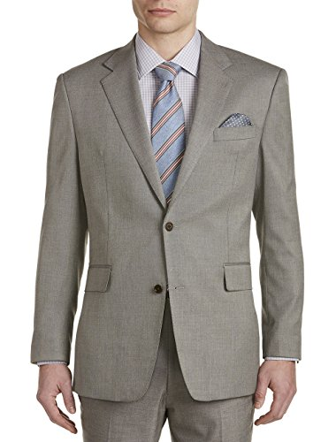 Tallia Orange Big and Tall Birdseye Suit Jacket