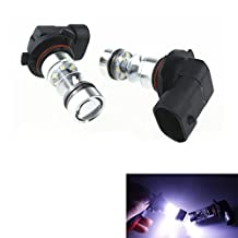 XT AUTO 2x 9005 8000K 100W LED 20-SMD Cree Projector Fog Driving DRL Daytime Running Light Bulbs White