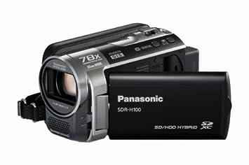 panasonic sdr h100 camcorder black amazon co uk camera photo rh amazon co uk Panasonic PV-BP18 P-V611 Battery Pack Panasonic SDR S26