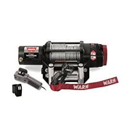 WARN 90450 ProVantage 4500 Winch – 4500 lb. Capacity,Black