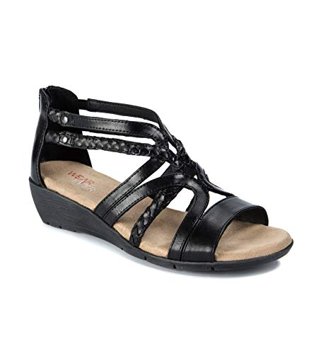Wear.Ever. Finlay Women's Sandals & Flip Flops Black Size 8 M (WR12538)