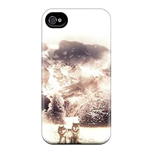 Durable February Back Case/cover For Iphone 4/4s