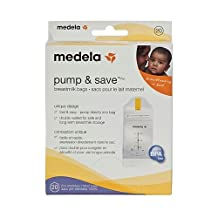 Medela Pump and Save Breast Milk Bags - 20 pack