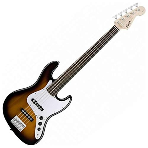 Squier Affinity Jazz Bass V 5 String LRL BSB Bass Guitar