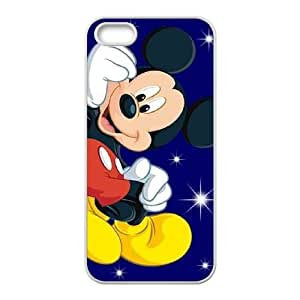 iPhone 5 5s Cell Phone Case White Mickey Mouse8 Svfrt