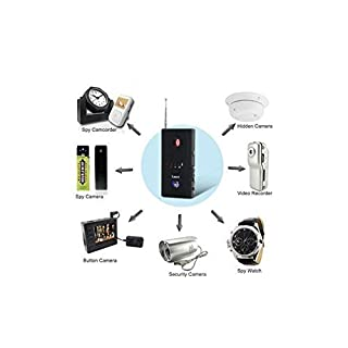Anti Spy Detector, RF Detector & Camera Finder, Bug Detector,GSM Tracking Device for Wireless Audio Bug Hidden Camera Detector