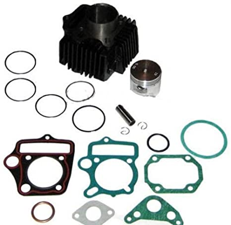 52mm Cylinder kit Piston Rings set 110cc Engine Parts Kazuma Redcat ATV Go  Kart