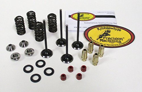 Kibblewhite Intake and Exhaust Valves and Spring Kit with Guides CRF 450R 2002-2006