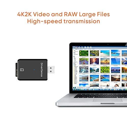 Digital Cameras & DSLR Accessory - USB 3.1(G1) SD4.0/SDXC/SDHC UHS II Card Reader/Writer for Professional Photographers and Videographers
