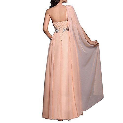 Formal Shoulder Long Line A Women's D Chiffon H One Blue Gowns Prom Dresses Evening S Navy w8BPpgxHqH