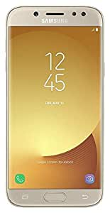 "Smartphone Samsung Galaxy J5 Pro Dourado 32GB, Dual Chip Tela 5.2"" HD 4G+WiFi, Android 7.0, Octa-Core 1.6GHZ Câmera 13MP"