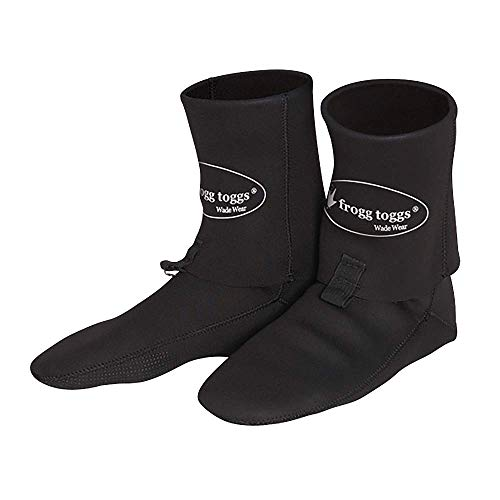 Frogg Toggs Neoprene Booties, Black, Size Small ()