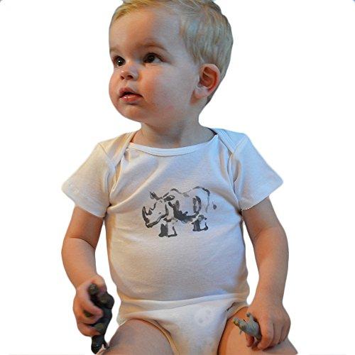 Artist Baby Onesie - American Rhino Unisex Baby Lil Rhino Onesie 6-12 Months Artist Edition