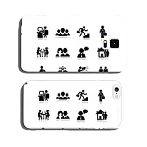 People icon. Set vectors 5. cell phone cover case iPhone6