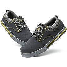 Non Slip Work Shoes Men For Work Women's Black Composite Toe Hiking Climbing Shoes
